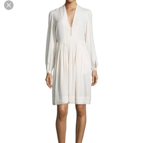 15d95bc51b Isabel Marant Dresses   Neil Crepe Ivory Dress   Poshmark